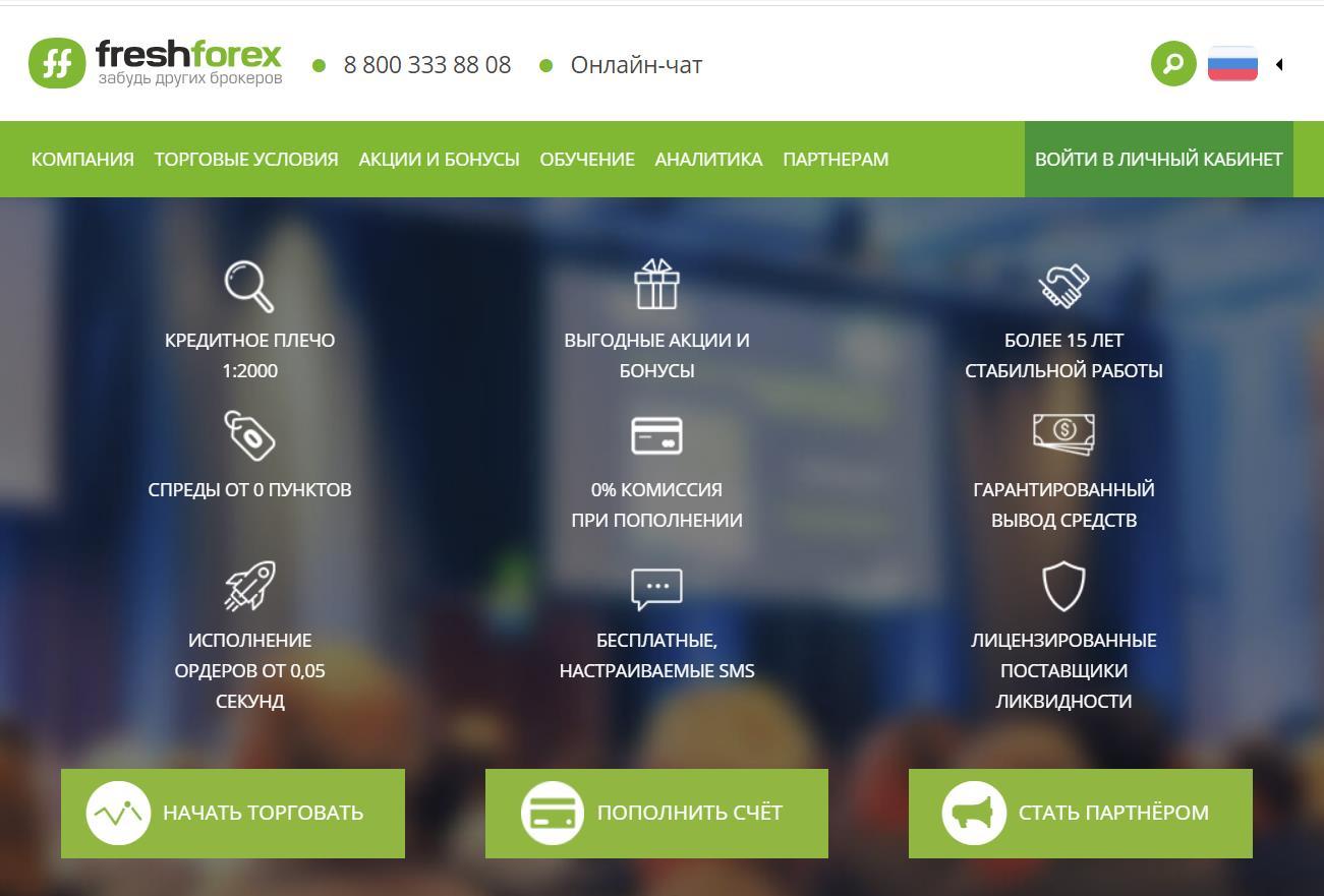 обзор freshforex