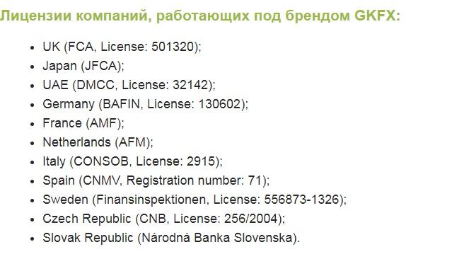 лицензии на работу
