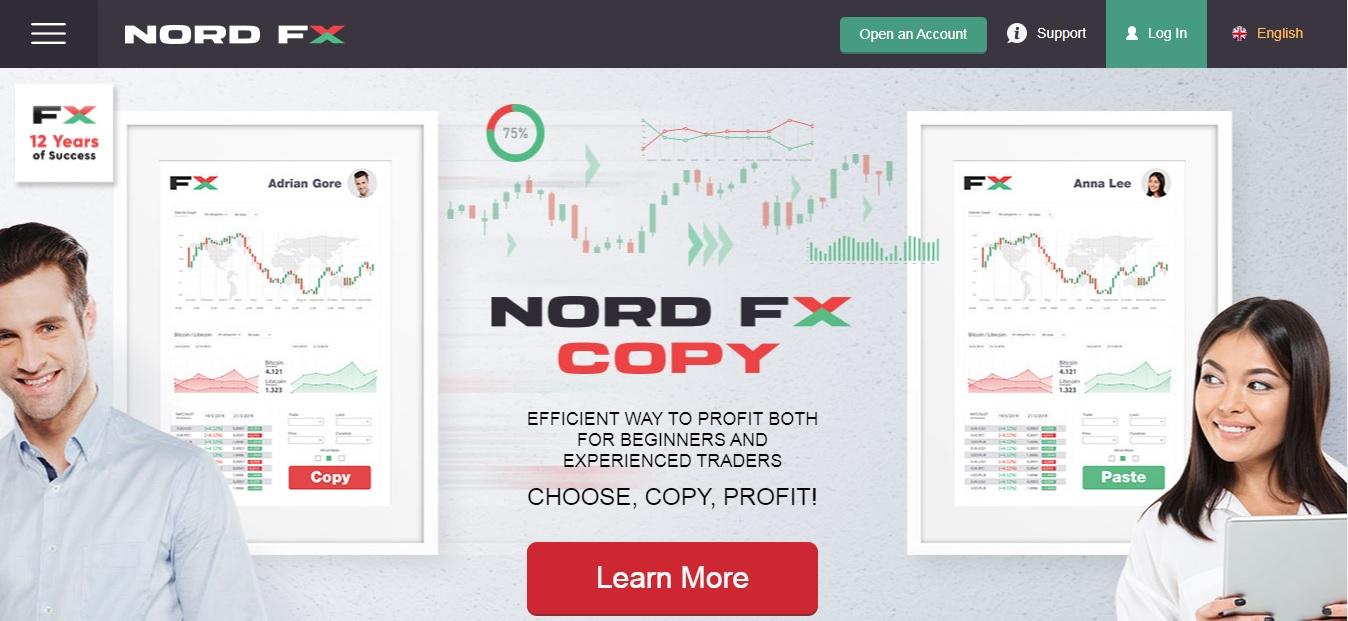 nordfx копирование