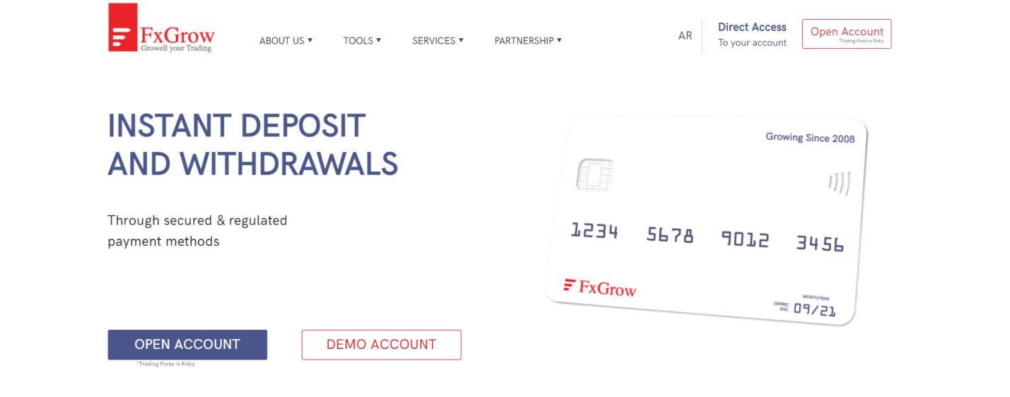 официальный сайт fxgrow