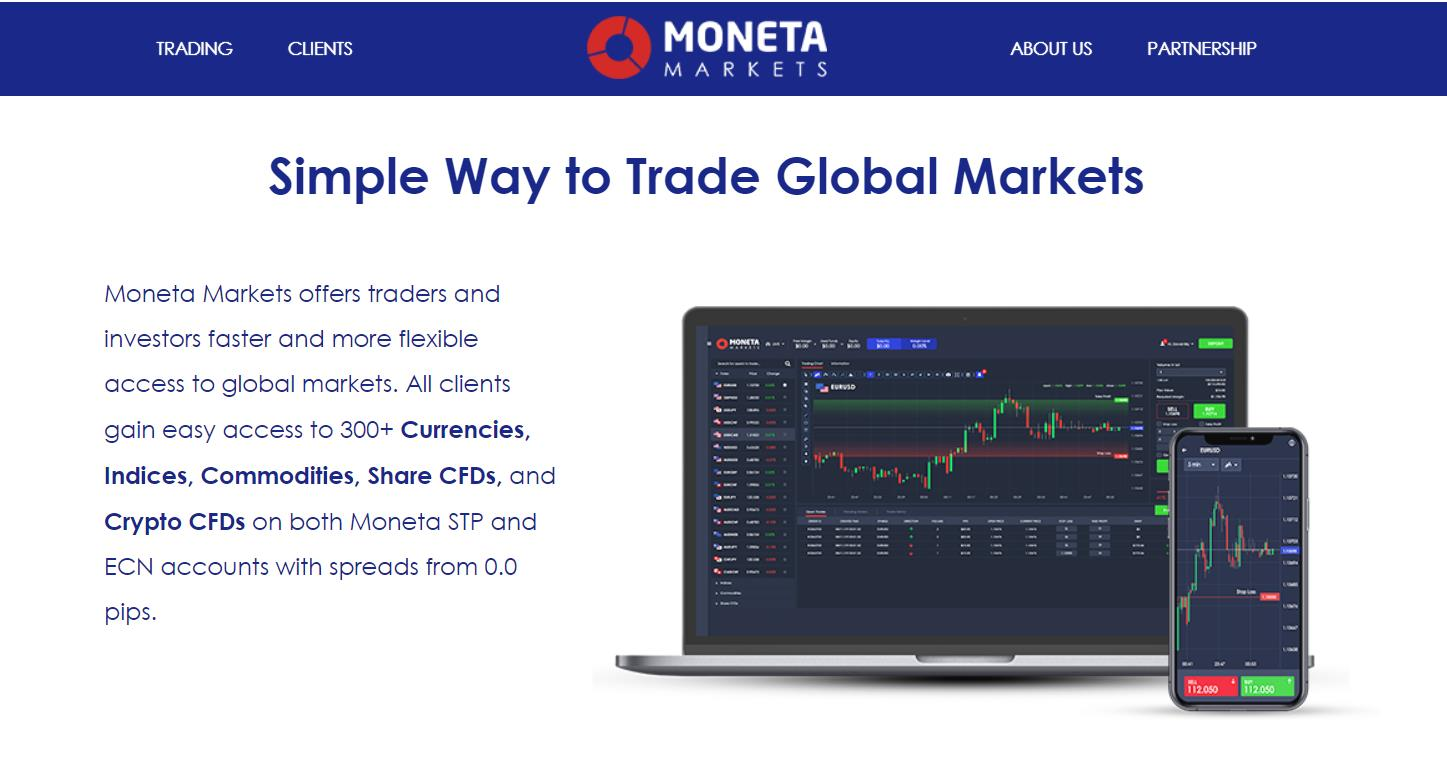 торговля с moneta markets