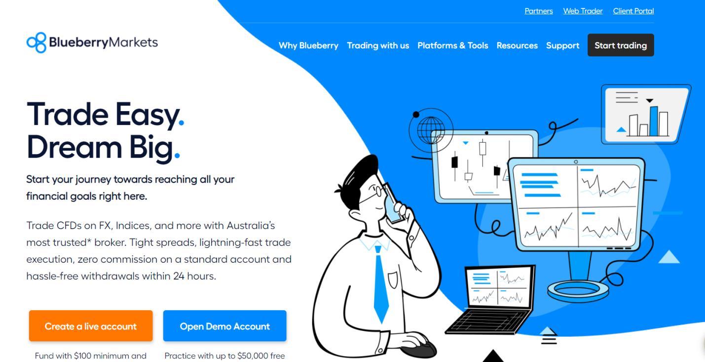 blueberry markets официальный сайт