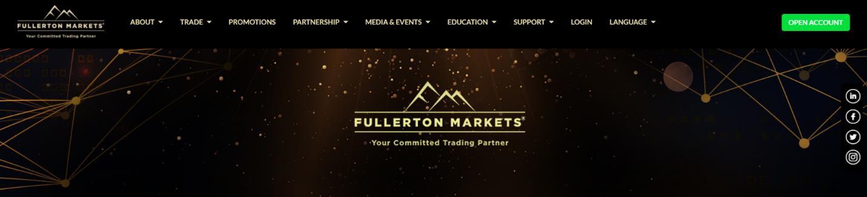 обзор брокерской компании fullerton markets