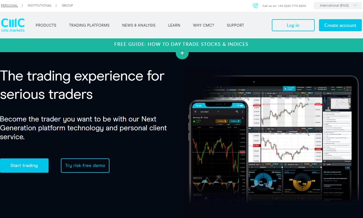 cmc markets официальный сайт