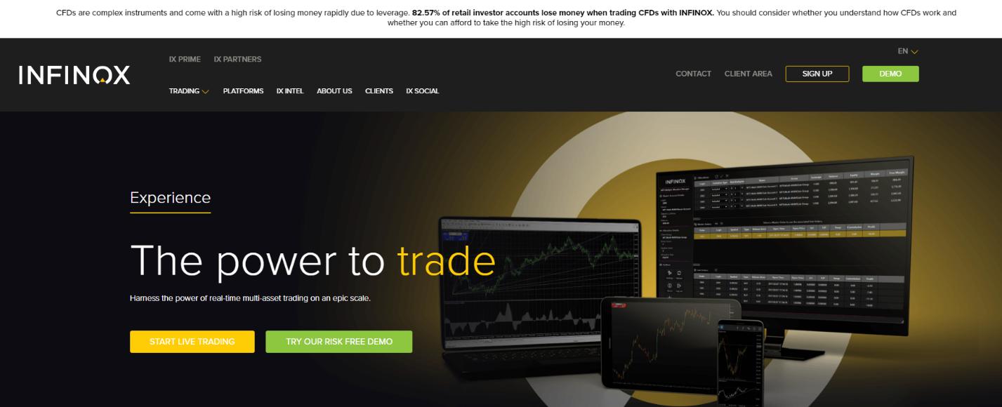 официальный сайт infinox