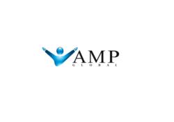 логотип компании amp global