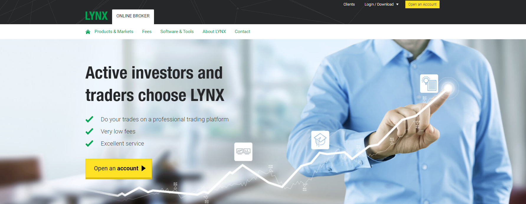 lynx broker официальный сайт брокера